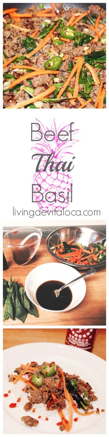 Beef Thai Basil