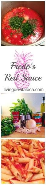 Fredos Red Sauce