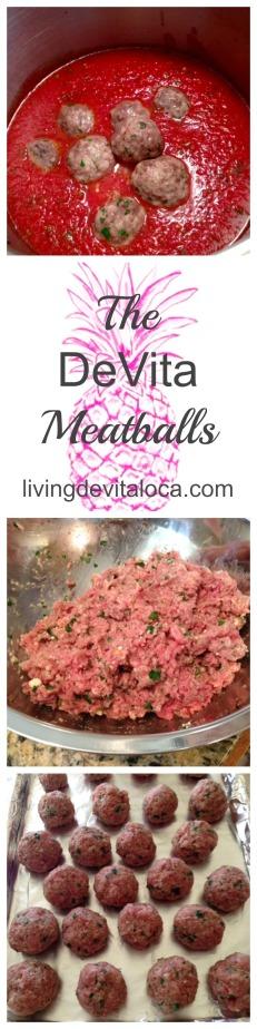 The DeVita Meatballs